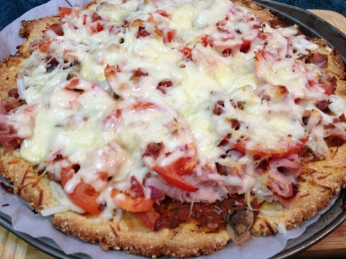 MMMmmm!~ Low Carb Pizza!